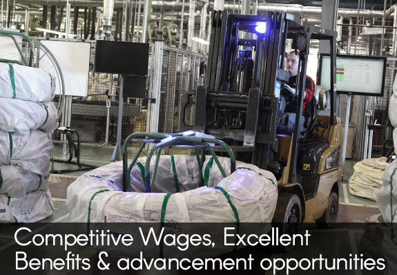 competitive wages  and the opportunity for  advancement